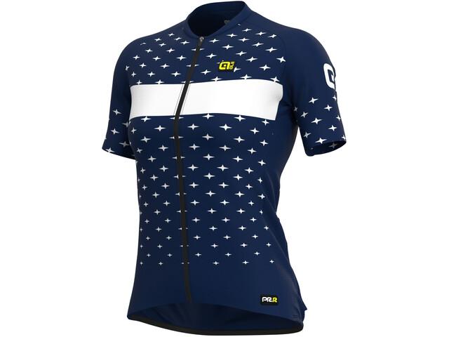 Alé Cycling PRR Stars SS Jersey Women navy blue/white